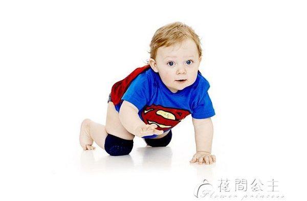 嬰兒護膝夏天損傷兒童跑步防風防撞運動護腕透氣成人電動籃球加厚 花間公主