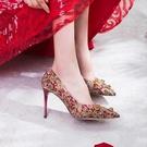 秀禾鞋婚鞋女新款中式紅結婚