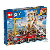 60216【LEGO 樂高積木】城市City 市區消防隊