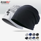 秋冬季包頭帽子男戶外套頭帽加絨棉帽月子帽女保暖睡帽頭巾堆堆帽 小艾新品