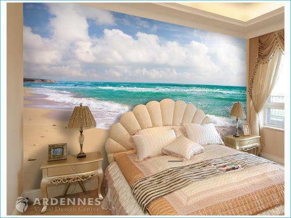 【ARDENNES】防水壁貼 壁紙 牆貼 / 霧面 亮面 / 沙灘海景系列 NO.B003