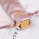 迷你口紅包收納袋束口袋簡約小袋便攜抽繩旅行隨身布袋子【橘社小鎮】