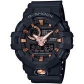 【台南 時代鐘錶 CASIO】卡西歐 G-SHOCK 台灣公司貨 GA-710B-1A4 雙顯錶