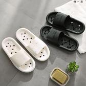 2雙涼拖鞋女夏室內防滑洗澡漏水速干