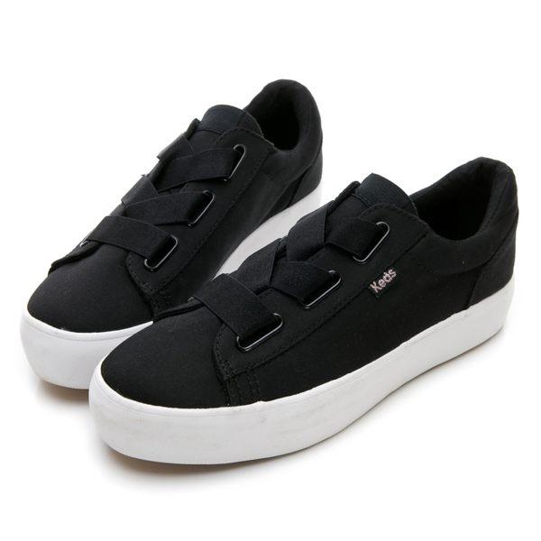 Keds TRIPLE CROSS 女款彈性鞋帶厚底休閒鞋-NO.9183W132584