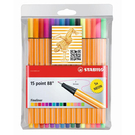 STABILO POINT 88系列簽字筆15色組*8815-1