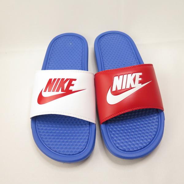 Nike BENASSI JDI 陰陽拖鞋 343880415 男款 紅白【iSport愛運動】