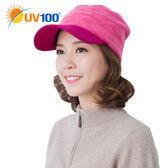 UV100 防曬 抗UV 保暖刷毛多功能鴨舌帽