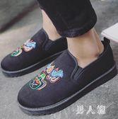 豆豆鞋冬季棉鞋男保暖韓版社會精神小伙潮鞋加絨布鞋子男 zm11583『男人範』