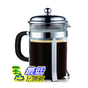 [104美國直購] SterlingPro Coffee & Espresso Maker, 8 Cups (4 Ounce Each), Chrome 法式濾壓壺 法壓壺 咖啡壺 $1764