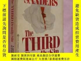 二手書博民逛書店the罕見third deadly sinY146810 law