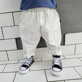 童裝兒童棉麻哈倫褲小男童寶寶休閒哈倫褲嬰兒大pp褲  伊衫風尚