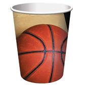 9oz紙杯8入-籃球