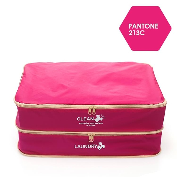 旅行衣物收納袋內行李箱衣服衣物布袋出差分層整理分裝TA3089【極致男人】