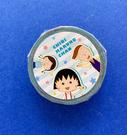 【震撼精品百貨】CHIBI MARUKO CHAN_櫻桃小丸子~小丸子紙膠帶-小玉與花輪#57046