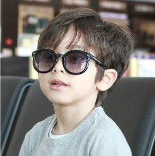 兒童太陽眼鏡 寶寶箭頭 墨鏡 復古時尚蛤蟆鏡  防紫外線【B9122】