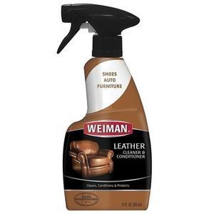 美國WEIMAN威美皮革清潔劑--除污保養專用(473ml)x2瓶