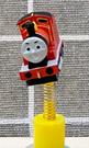 【震撼精品百貨】湯瑪士小火車_Thomas & Friends~湯瑪士吸盤擺飾-火車紅#78354