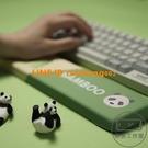 記憶棉慢回彈鍵盤手托硅膠護腕護腕墊舒適掌托腕托辦公熊貓【輕派工作室】