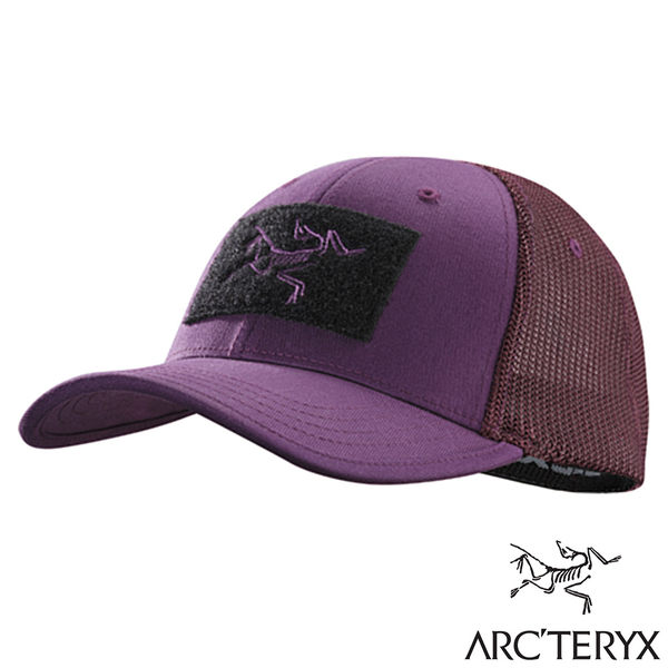 【Arc'teryx 始祖鳥】LOGO棒球帽『迷幻紫』L06824900 戶外.休閒.露營.遮陽帽.登山帽.慢跑帽.釣魚帽
