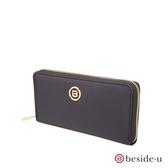 beside u BNUAS 全RFID簡約設計皮夾 – 黑色 原廠公司貨