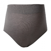 貝恩 時尚簡約高腰內褲-簡約灰 M/L/XL