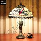 INPHIC-文藝復古手工蜻蜓客廳茶几暖色臥室床頭婚房裝飾藝術品尼檯燈_S2626C