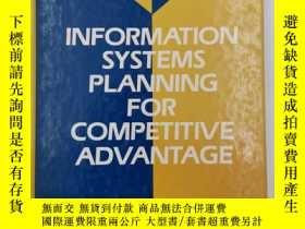 二手書博民逛書店Information罕見Systems Planning fo