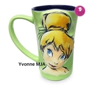 Yvonne MJA*美國迪士尼商店限定正品 彼得潘 奇妙小仙子 馬克杯