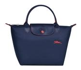 LONGCHAMP 1621 女士LE PLIAGE COLLECTION 系列織物小號手提單肩包購物袋