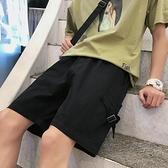 夏季ins五分褲寬鬆韓版休閒外穿運動褲子潮流港風工裝短褲男 618促銷