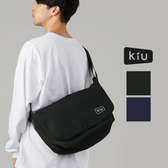 【K117-L-共2款】日本 KiU 防水耐用600D 斜背郵差包