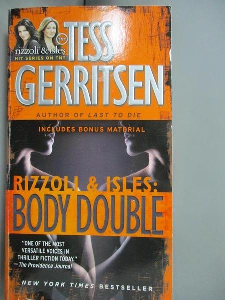 【書寶二手書T1/原文小說_JIS】Body Double_Gerritsen, Tess