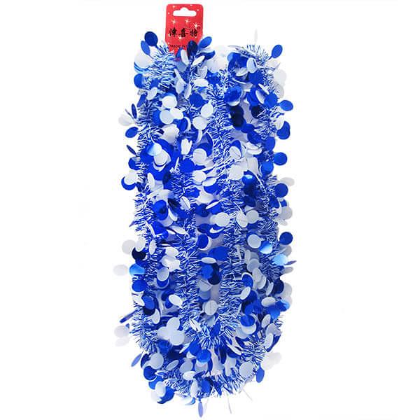 200公分圓點彩帶1入-寶石藍