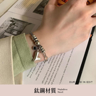 限量現貨◆PUFII-手鍊 鈦鋼大愛心手環-0625 現+預 夏【CP20705】