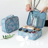 化妝包小號便攜韓國簡約大容量多功能化妝袋隨身旅行洗漱品收納包