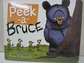 【書寶二手書T5/少年童書_ITH】Peek-a-bruce_Higgins, Ryan T.