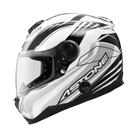 【東門城】 ASTONE GT1000F AC6 (白黑) 碳纖維 全罩式安全帽