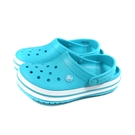 Crocs 休閒鞋 涼鞋 防水 水藍色 男女鞋 11016-4SL no036