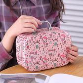 新款簡約便攜專業手提化妝箱ins大容量旅行化妝品包TY41【大尺碼女王】