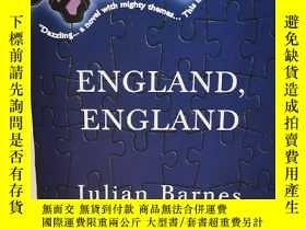 二手書博民逛書店朱利安·巴恩斯罕見England ,England by Jul