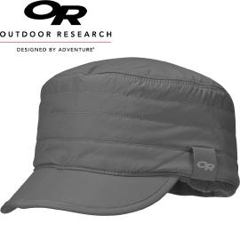 【Outdoor Research 美國 INVERSION RADAR CAP 高防潑水透氣快乾保暖帽 灰】243651CA/登山帽/毛帽★滿額送