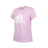 ADIDAS 女短袖T恤(亞規 純棉 休閒 慢跑 上衣 愛迪達≡體院≡ GV4030