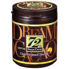 韓國【LOTTE樂天】 Dream夢幻巧克力72%  96g (賞味期限:2018.12.06)