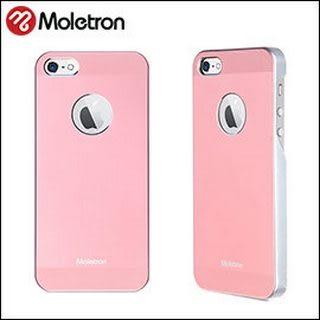 Moletron ★ NUANCE for iPhone 5/5S 手機殼 超薄時尚保護背蓋系列-粉紅色
