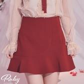 褲裙 素色魚尾褲裙-Ruby s 露比午茶