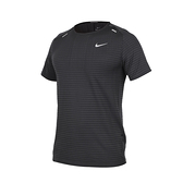 NIKE 男運動短袖T恤( Dri-FIT 反光 慢跑 路跑 運動 上衣≡排汗專家≡
