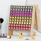 化妝品收納盒 桌面口紅收納盒化妝品盒包唇釉木制大號梳妝台護膚品多格置物架子【雙12購物節】