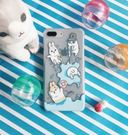 iPhone8 Plus/i7Plus/i6Plus (不含手機座) 手機殼【machiko – 軟軟好ㄇㄚ˙幾】麻幾兔 5.5吋 PC 硬殼