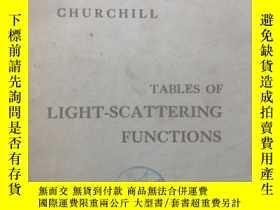 二手書博民逛書店TABLES罕見OF LIGHT-SCATTERING FUNC